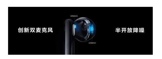 华为FreeBuds 4半入耳TWS耳机正式发布 售价仅售999元